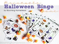pumpkin bingo game | halloween activities for kids - halloween bingo 2