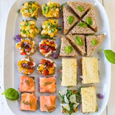 5 Quick and Easy Tea Sandwiches {recipe}. This whole page is links to various sources for tea sandwich recipes.