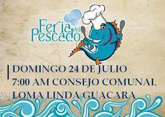 CONSEJO COMUNAL LOMA LINDA GUACARA: FERIA DE PESCADO Y POLLO