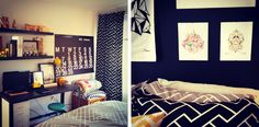 {BLACK. WHITE. YELLOW.}: Apartment Updates... LOVE her bedroom