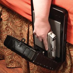 Arms Reach Bedside Biometric Gun Safe for Father's Day gift.