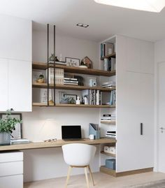 A little bit of home office/study nook inspiration. for some people, working from home is a necessary evil. Office Interior Design, Home Office Decor, Office Interiors, Home Decor, Office Ideas, Office Furniture, Design Offices, Furniture Design, Asian Furniture