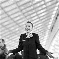 """""""I love my job and its exciting human dimension."""" Nadia Passenger Agent at CDG After International Women's Day we put the Women of Air France in the spotlight. #AirFrance #FranceisintheAir #InternationalWomensDay #AVgeek Hotels-live.com via https://www."""