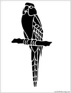 birds Printable Stencils