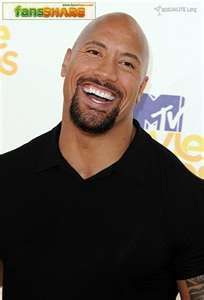 """Dwayne """"The Rock"""" Johnson- Great smile and funny too!!"""