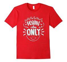 Men's Vintage Retro Positive Vibes Only T-shirt