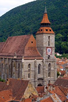 Stone and I spent the night in Romania's mysterious Transylvania region, Brasov, which has been strongly associated with vampires, werewolf'. Carpathian Mountains, Black Church, Medieval Town, Old City, Eastern Europe, Homeland, Bangkok, Big Ben, Barcelona Cathedral