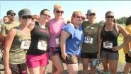 On Sunday, runners took action for wounded warriors. The Spartyka Boots and Utes 5K was held at the Virginia Beach Sportsplex.