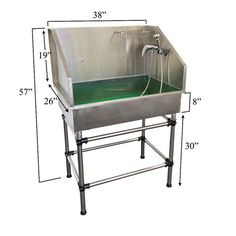 62 professional stainless steel dog pet grooming bath tub with ramp best dog baths for home groomers solutioingenieria Images