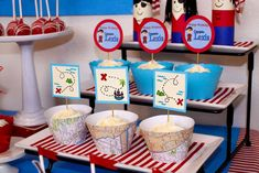 Pirate Themed Birthday Party | CatchMyParty.com