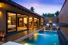 One bedroom pool villa at the Anantara Kalutara in Sri Lanka