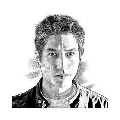 keith-witmer-portraits-stipple-hedcut