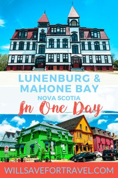 Planning a trip to Nova Scotia's South Shore? You have to stop in my 2 favourite towns: Lunenburg and Mahone Bay. Both have plenty of charm and fun things to do! Alberta Canada, Ottawa, Ontario, Lunenburg Nova Scotia, Vancouver, Nova Scotia Travel, Annapolis Valley, Canada Travel, Canada Trip