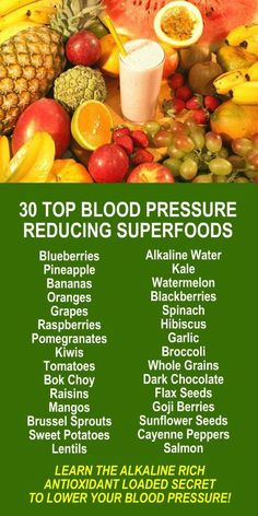 - Diet to lose weight - 30 Top Blood Pressure Reducing Superfoods. Learn about the potent health benefit. HEALTHCARE Diet to lose weight 30 Top Blood Pressure Reducing Superfoods. Learn about the potent health benefit High Blood Pressure Diet, Blood Pressure Remedies, Reducing Blood Pressure, Blood Pressure Chart, Superfoods, Health And Wellness, Health Tips, Health Benefits, Vitamins