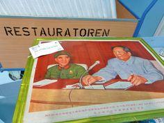 Vorbereitung der Mao-Ausstellung im Übersee-Museum Bremen.