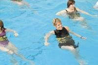 Water aerobics routines
