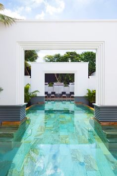 The green-tiled, free-form pool is a great place to cool off from the Southeast Asian sun. Park Hyatt Siem Reap (Siem Reap, Cambodia) - Jetsetter