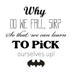 "Batman quote embroidery template - by ""Fee ist mein Name"""