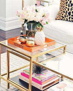 home | accents || Display on Hermes Tray