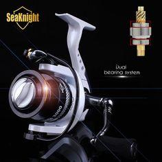 SeaKnight 2015 Fishing Reel 14BB 5.2:1 Metal Spinning Carp Wheel Spare Spool