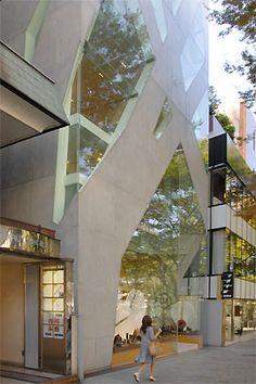 Tod's Omotesando Building Tokyo by Toyo Ito