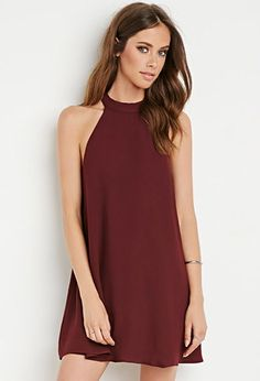Halter Trapeze Dress | Forever 21 - 2000142373