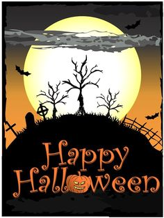 Halloween Wishes, Halloween Greetings, Halloween 2014, Halloween Projects, Holidays Halloween, Scary Halloween, Happy Halloween, Halloween Illustration