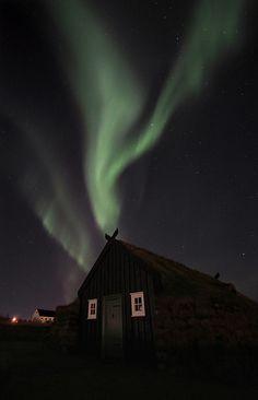 .Northern lights