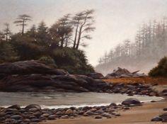January Mist, by Ray Ward