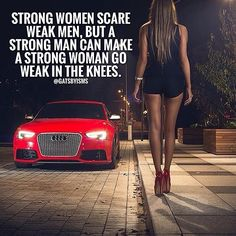 Date a boss, be a boss, build a an empire. There's nothing more attractive than a confident woman. Confident women only scare weak men. Why? Because she doesn't need you, but if she wants you it's very clear. Stop chasing appendages and get a vital organ.