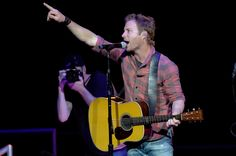 Dierks Bentley Photos - Musician Dierks Bentley performs onstage during CBS Radio's The Night Before at US Airways Center on January 2015 in Phoenix, Arizona. - CBS Radio's The Night Before - Show Country Artists, Country Singers, Country Music, Us Airways, Summer Music Festivals, Dierks Bentley, The Night Before, Latest Music, Listening To You