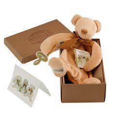 Maud N Lil Luxury Organic Cotton Comforter Cubby The Bear
