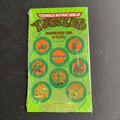 1993 TMNT Collector Caps POGS unpunched sealed Ninja Turtle Toys, Ninja Turtles, Neca Figures, Teenage Mutant Ninja, Tmnt