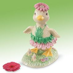 Lenox Darling Duckling Figurine - Easter Duckling - Easter Decoration