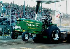 Truck and Tractor Pulling Series Truck And Tractor Pull, Tractor Pulling, Old Tractors, John Deere Tractors, Full Pull, Truck Pulls, John Deere Equipment, Industrial Machinery, Tractor Mower