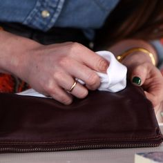 Learn How to Remove Stains From Leather Handbags!