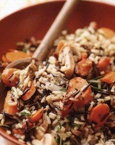 Фото к рецепту: Ароматный рис с овощами