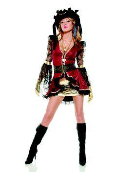 Couture Seven Seas Seductress Pirate Costume