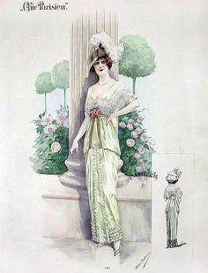 Мода конца 19 - начала 20 века.