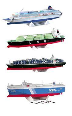 Familje-Journalen street of the nations Scale Model Ships, Scale Models, Boat Illustration, Legos, Model Ship Building, Oil Tanker, Paper Ship, Paper Models, Paper Toys