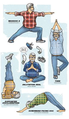 Star Wars-inspired yoga. Click for more!