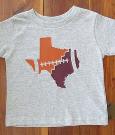 House Divided Shirt - Please list the TOP COLOR and BOTTOM COLOR in the notes at checkout. Shown on Toddler 3T shirt.  Additional sizes are
