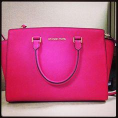 a7a29cf7a905 Pink MK purse<3<3 #pinkmkpurse Lambskin Leather, Leather Wallet, Mk