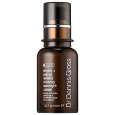 Shop Dr. Dennis Gross's Ferulic + Retinol Wrinkle Recovery Overnight Serum at Sephora. This overnight serum fights the appearance of wrinkles and imperfections.
