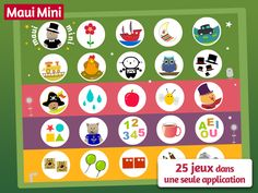 Maui Mini Games contains 25 mini games in a single app designed for children 2 - 3 - 4 - 5 year-old Educational Apps For Toddlers, Educational Games, Maui, Preschool Games, Toddler Preschool, Google Play, Applications Android, Hidden Pictures, Cause And Effect
