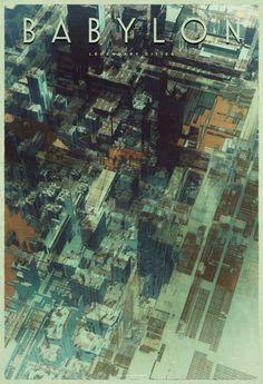 Ciudades de un futuro imposible: el arte Atelier Olschinsky | Cooking Ideas