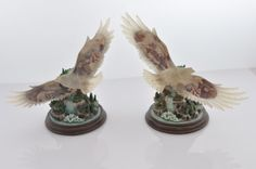 2-Collectible-Eagle-Figurines-United-We-Soar-Collection-Bergsma-Limited-Ed