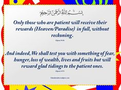 Quotes from Quran.