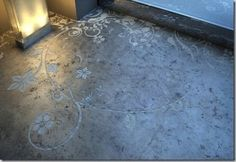 Concrete Floors Turned Beautiful | Apartment Therapy