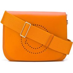 Anya Hindmarch Smiley satchel (5,290 MYR) ❤ liked on Polyvore featuring bags, handbags, orange, anya hindmarch purse, anya hindmarch handbags, satchel style handbag, orange satchel and satchel hand bags - Sale! Up to 75% OFF! Shot at Stylizio for women's and men's designer handbags, luxury sunglasses, watches, jewelry, purses, wallets, clothes, underwear & more!